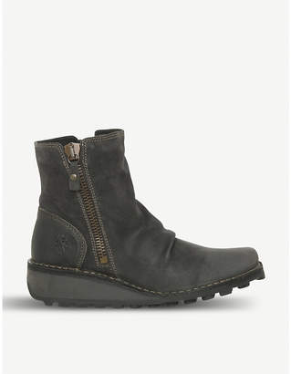 Fly London Mon leather ankle boot