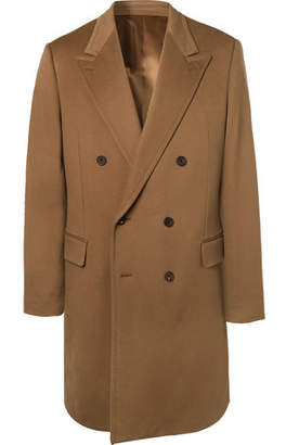 Kingsman Double-Breasted Cashmere And Wool-Blend Overcoat