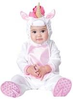 Incharacter Costumes 'Magical Unicorn' Footie & Hat (Baby Girls)