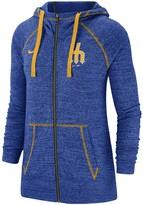 Nike Women's Royal Seattle Mariners Gym Vintage Team Full-Zip Hoodie