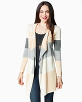 Charming charlie Fireside Colorblock Cardigan