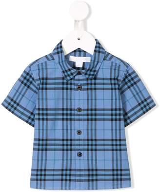 BURBERRY KIDS Check Shirt