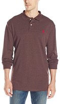 U.S. Polo Assn. Men's Classic Long Sleeve Interlock Polo Shirt