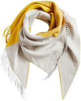 Burberry contrasting stripe bandana