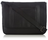 J By Jasper Conran Black Zip Front Despatch Bag