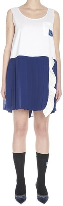 Prada Pleated Shift Dress