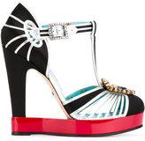 Gucci T-strap platform pumps