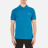 Lacoste Men's Short Sleeve Pique Polo Shirt Mariner
