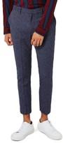 Topman Men's Ultra Skinny Fit Crop Trousers