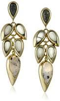 """Cole Haan Twilight"""" Drama Stone Cluster Teardrop Earrings"""