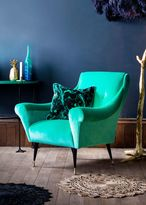 Matthew Williamson Estelle Teal Tango Chair