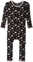 Kickee Pants Print Fitted Coverall (Baby) - Midnight Stars - 6-12 Months