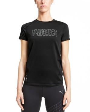 Puma Women's Run Logo T-Shirt