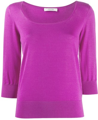 Dorothee Schumacher Scoop Neck Fine Knit Jumper