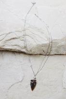 Vanessa Mooney Silver Arrowhead Necklace