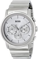 HUGO BOSS Black Collection Silver-Tone Dial Men's Watch