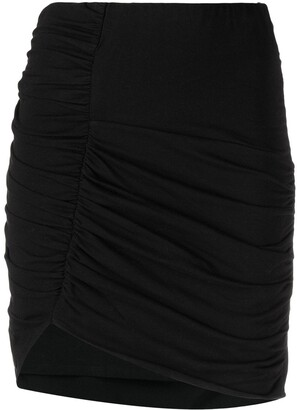 IRO Ruched-Detail High-Waisted Skirt