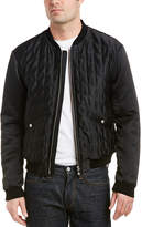 Versus By Versace Quilted Bomber Jacket