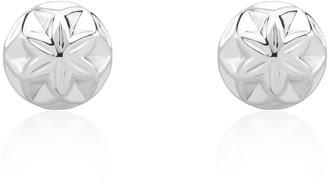 Tane Star Cactus Earrings Handmade In Sterling Silver