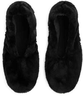 Arket Faux Fur Slippers