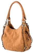 Merona Women's Timeless Collection Small Hobo Faux Leather Handbag
