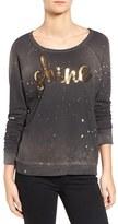 Sundry Women's Sequin Shine Pullover