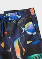 Paul Smith Men's 'Tropical Fish' Print Swim Shorts