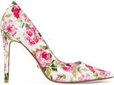 Dune Bloom peony print court heels