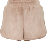 Sally LaPointe Suede Track Short