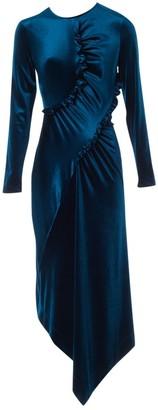 Preen Blue Velvet Dresses