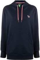 Thumbnail for your product : Paul Smith Zebra-Motif Cotton Hoodie