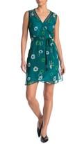 Amour Vert Delta Floral Waist Tie Dress