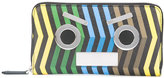 Fendi 'No Words' printed wallet - men - Calf Leather - One Size