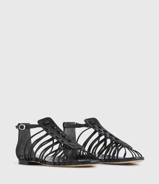 AllSaints Fiona Leather Sandals