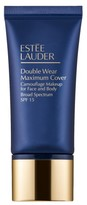 Estee Lauder Double Wear Maximum Cover Camouflage Makeup For Face And Body Spf 15 - Cream Vanilla Light/medium
