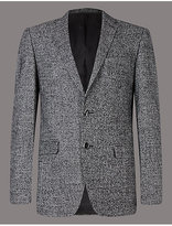 Autograph Wool Rich Single Breasted Jacket