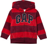 Gap Red Stripe Pro Fleece Hoodie