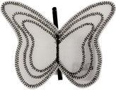 D&G Dolce&Gabbana Cream Butterfly Hair Grip