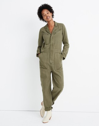 Madewell Flight Suit Coverall Jumpsuit