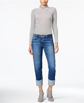 Joe's Jeans The Smith Dionne Wash Cuffed Skinny Jeans