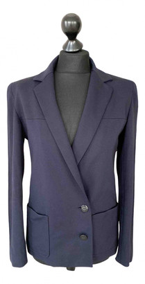 Chanel Blue Viscose Jackets