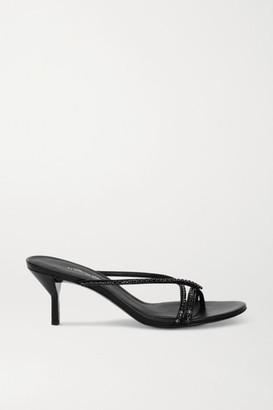 3.1 Phillip Lim Kiddie Crystal-embellished Leather Sandals