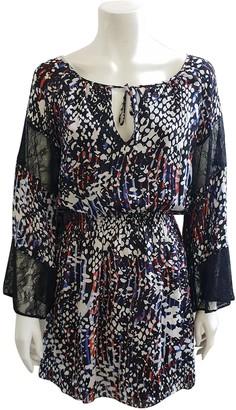 Parker Multicolour Silk Dress for Women