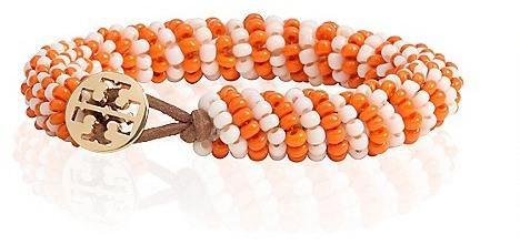Tory Burch Dual Color Seed Bead Bracelet