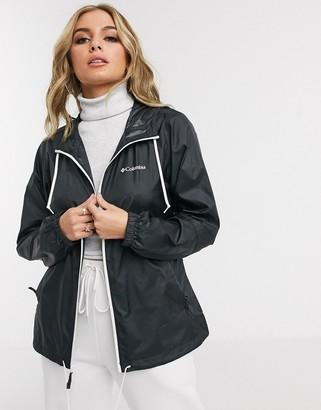 Columbia Flash Forward windbreaker jacket in black