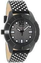 adidas Women's ADH3053 Black Leather Quartz Fashion Watch