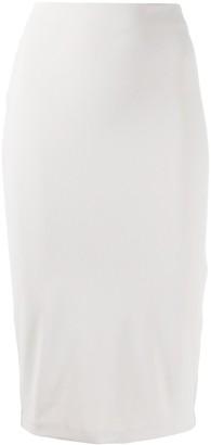 Bernhard Willhelm Midi Pencil Skirt
