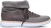 UGG Islay leather knit-sock trainers