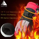 Vector Windproof Water Rebellent Winter Warm Thermal Snow Gloves Skiing Snowboarding Ski Gloves(M, )
