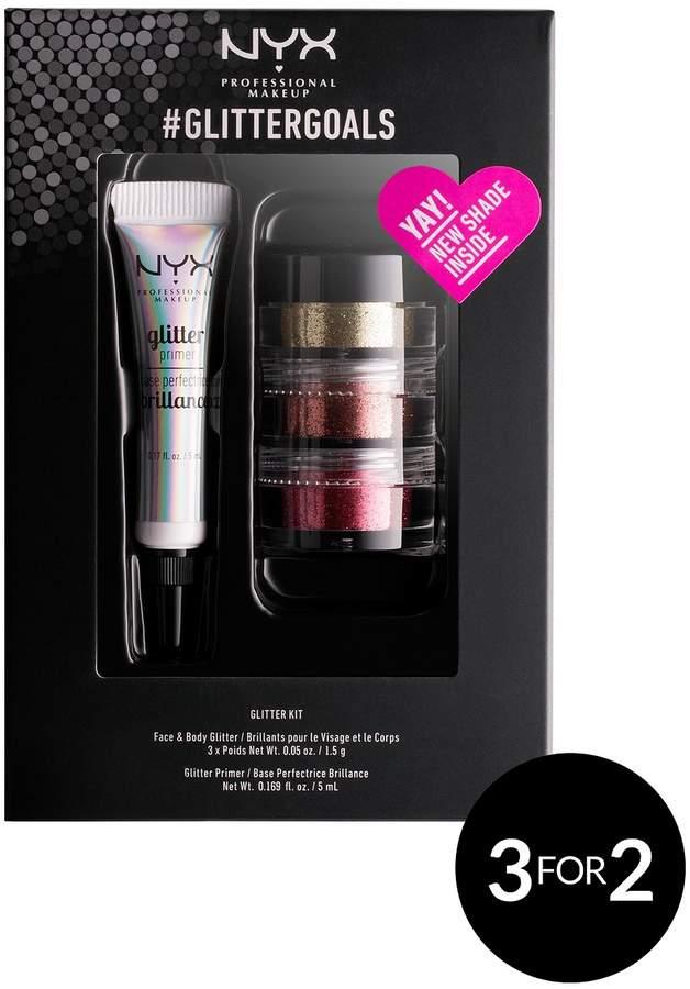 NYX #Glittergoals Kit